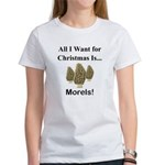 Christmas Morels Women's T-Shirt
