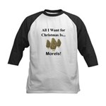 Christmas Morels Kids Baseball Jersey