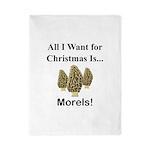 Christmas Morels Twin Duvet