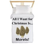 Christmas Morels Twin Duvet