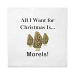Christmas Morels Queen Duvet