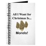 Christmas Morels Journal