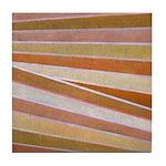 TERRAZZO-ORANGE Tile Coaster