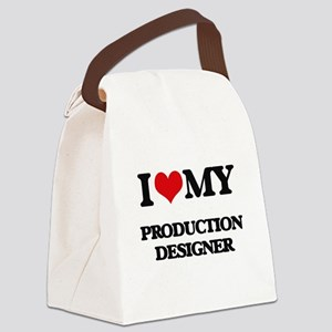 I love my Production Designer Canvas Lunch Bag