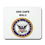 USS CAPE Mousepad