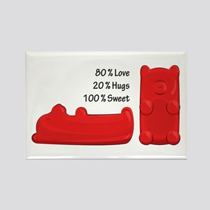 Candy Bears Rectangle Magnets