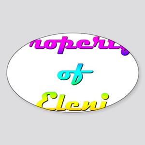 Property Of Eleni Female Sticker