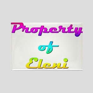 Property Of Eleni Female Magnets