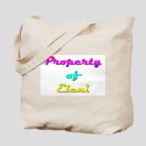 Property Of Eleni Female Tote Bag