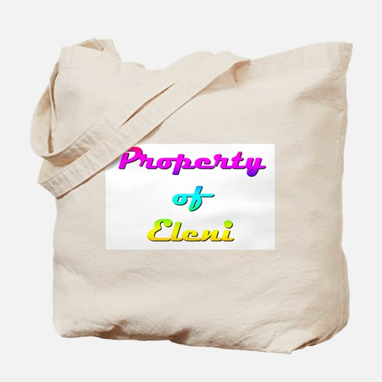 Property Of Eleni Female Tote Bag