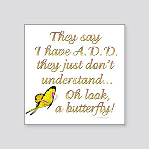 ADD Butterfly Sticker
