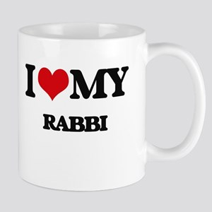 I love my Rabbi Mugs