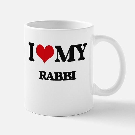 I love my Rabbi Mugs