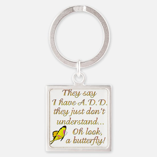 ADD Butterfly Keychains