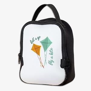 Lets Fly A Kite Neoprene Lunch Bag