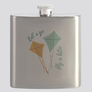 Lets Fly A Kite Flask
