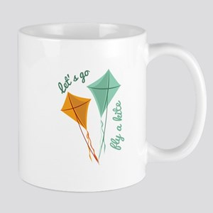 Lets Fly A Kite Mugs