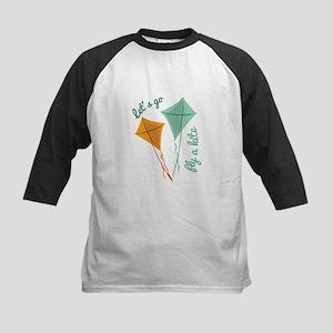 Lets Fly A Kite Baseball Jersey