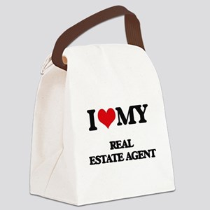 I love my Real Estate Agent Canvas Lunch Bag