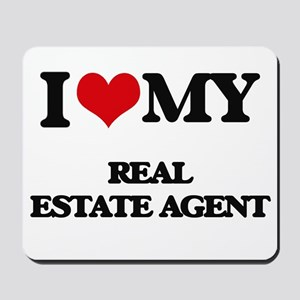 I love my Real Estate Agent Mousepad
