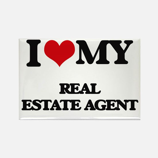 I love my Real Estate Agent Magnets