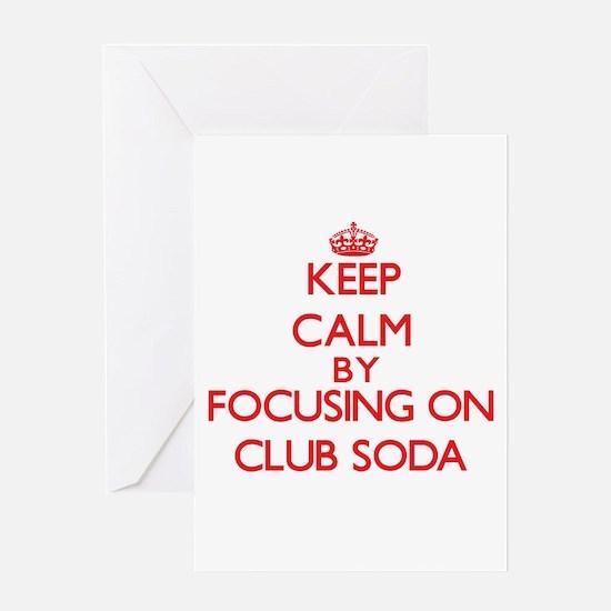 Club Soda Greeting Cards