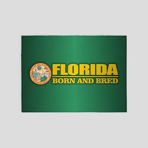 Florida Born & Bred 5'x7'Area Rug