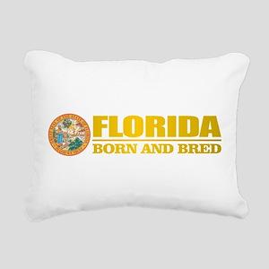 Florida Born & Bred Rectangular Canvas Pillow