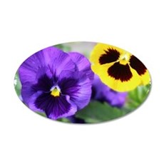 PANSIES Wall Decal