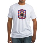 USS CONQUEST Fitted T-Shirt