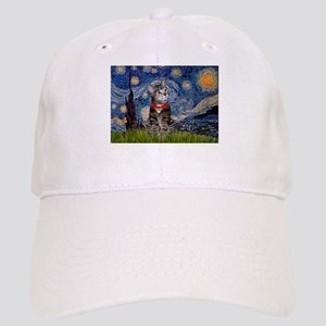 Starry Night / Tiger Cat Cap