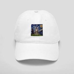 Starry Night & Tiger Cat Cap