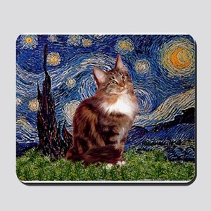 5.5x7.5-Starry-MCoon12B Mousepad