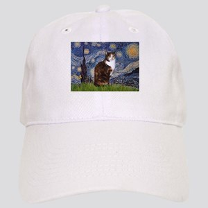 TILE-Starry-CalicoSH Cap