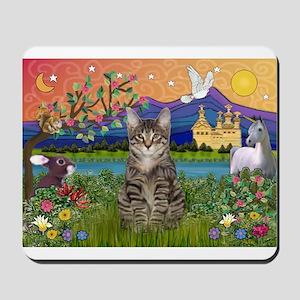 Fantasy Land / Tiger Cat Mousepad