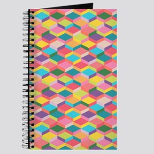 3D Geometric Pattern Journal
