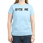 Byte Me Computer Joke Women's Light T-Shirt