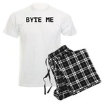 Byte Me Computer Joke Men's Light Pajamas