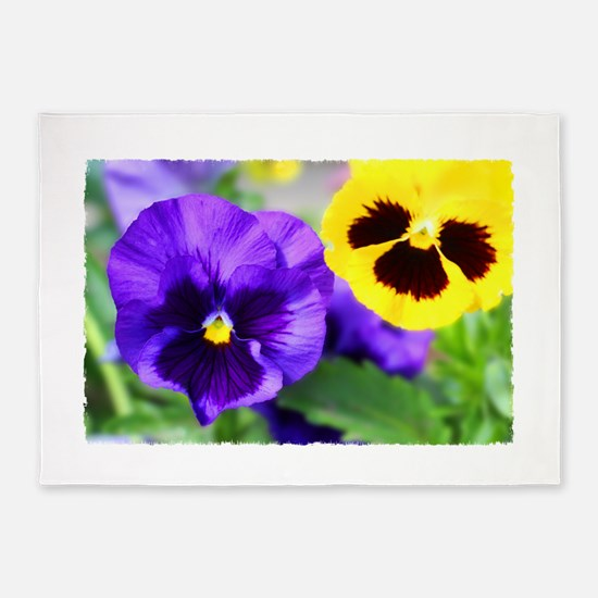 Pansy 5'x7'Area Rug