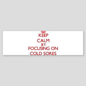Cold Sores Bumper Sticker