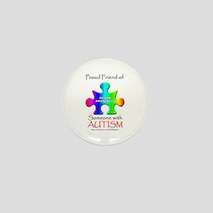 Proud Friend Mini Button