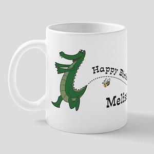 Happy Birthday Melissa (gator Mug