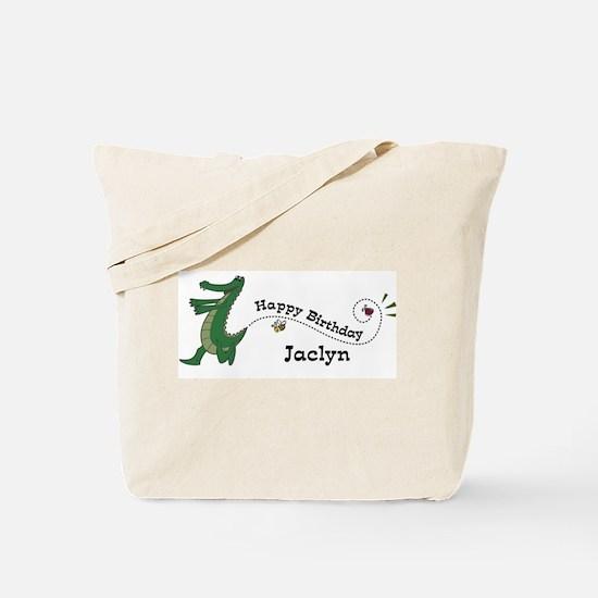Happy Birthday Jaclyn (gator) Tote Bag