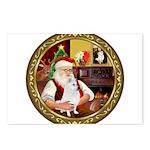 Santa's Am Eskimo #5 Postcards (Package of 8)