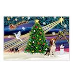 Xmas Magic & Beagle Postcards (Package of 8)