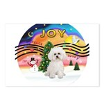 XMusic2-Bichon Frise (#2) Postcards (Package of 8)