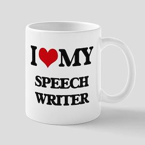 I love my Speech Writer Mugs