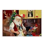 Santa's Boxer (#1) Postcards (Package of 8)