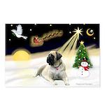 Night Flight/Mastiff 4 Postcards (Package of 8)