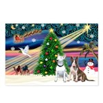 XmasMagic/2 Bullies Postcards (Package of 8)